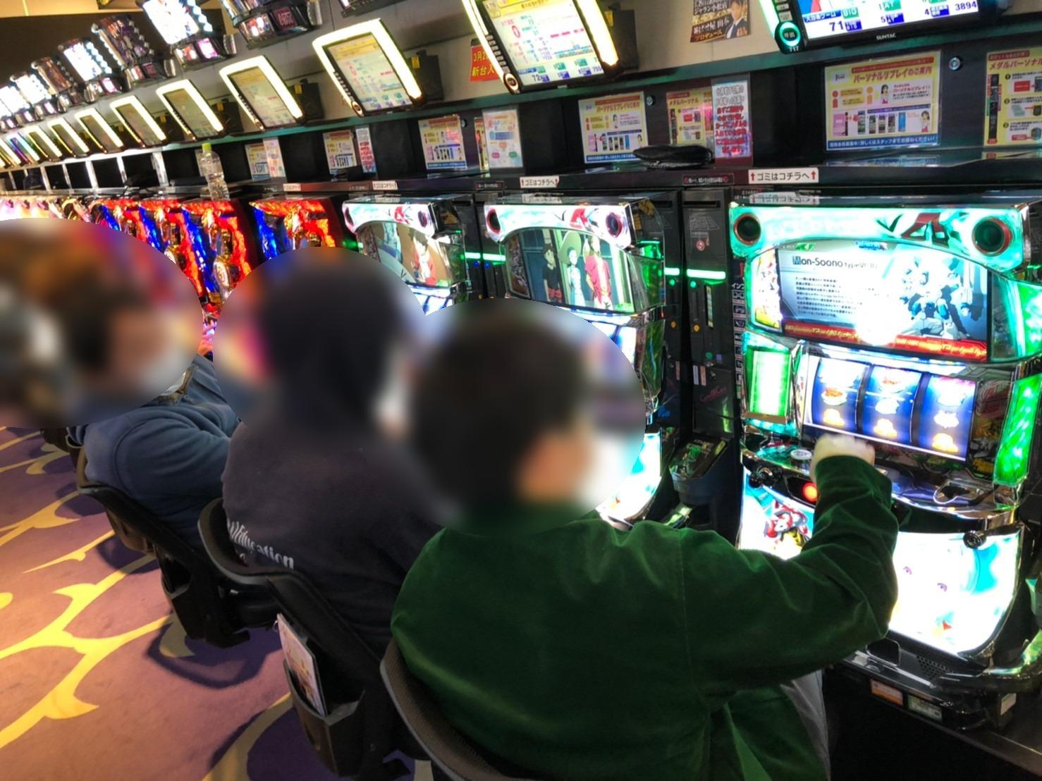3/8 ジャラン小松 結果報告!